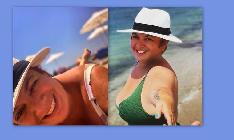 Ελεάννα Τρυφίδου: Έχασε 40 κιλά και ποζάρει με μίνι λευκό φόρεμα!