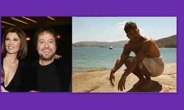 Γιάννης Πάριος: Έτσι περνά με τον γιο του, Μιχαήλ στην Πάρο