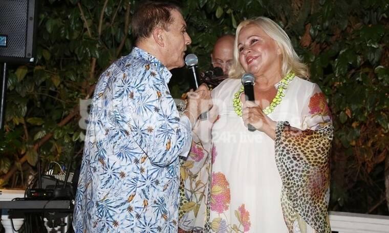 """Δάκης: Τα """"έσπασε"""" με τη Μπέσσυ Αργυράκη στο πάρτι γενεθλίων του! (Photos)"""