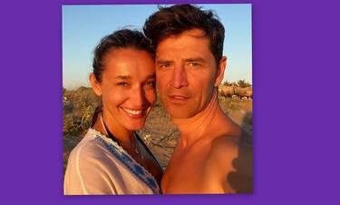 Σάκης Ρουβάς: Θα λιώσεις με τη φώτο από τη νέα απόδραση με την οικογένειά του