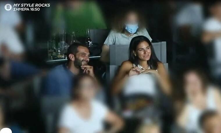 Λεωνίδας Κουτσόπουλος: Με φίλη του σε παράσταση του Δεληβοριά (Vid & Photos)