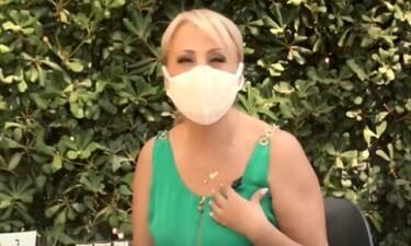 Καμπουρέλη:Δείχνει τρόπους για την αντιμετώπιση της ξηροδερμίας από τη μάσκα