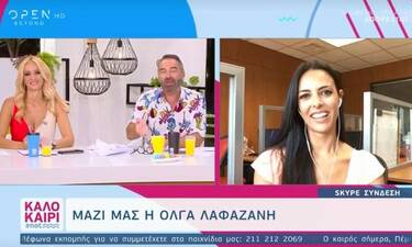 Η Όλγα Λαφαζάνη επιστρέφει στην TV - Δείτε σε ποια εκπομπή (Video)