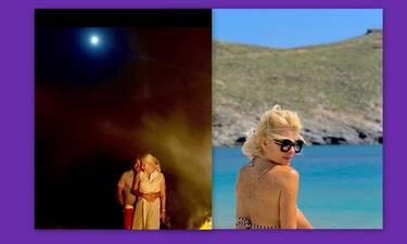 Παντζόπουλος: Το βίντεο από την ρομαντική βραδιά του με την Μενεγάκη