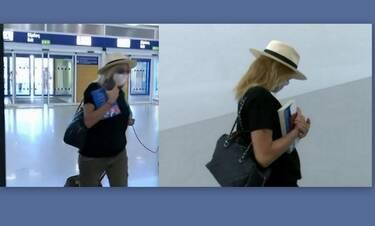 Μπαλατσινού: Τα πρώτα πλάνα με φουσκωμένη κοιλίτσα (video)