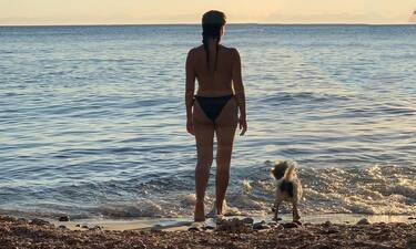 Ελληνίδα ηθοποιός ποζάρει topless και δεν πάει ο νους σας ποια είναι!