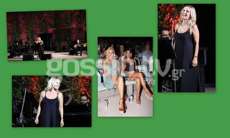 """Πέγκυ Ζήνα: «Μάγεψε» στη συναυλία της - Ποιους """"τσάκωσε"""" ο φακός; (Photos)"""
