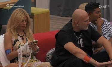 Big Brother: Χαμός με Άννα Μαρία που κρατάει κινητό! (photos)