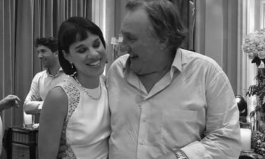 Gerard Depardieu: Η ορθόδοξη βάπτισή του και η συνάντηση με τη Μόνικα! (pics)