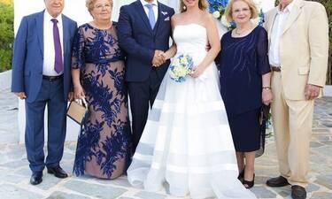 Λαμπερός γάμος με κουμπάρο τον Κώστα Κατσουράνη! (Photos)