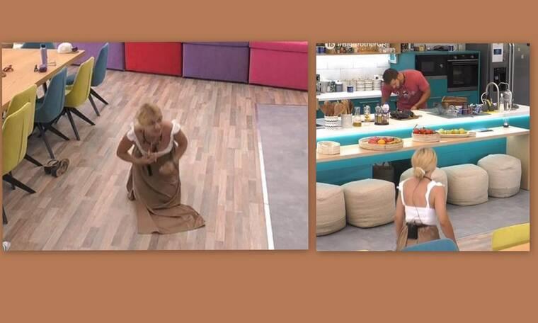 Big Brother:Στα πατώματα η Άννα Μαρία - Δείτε τι έκανε μετά τον τσακωμό!