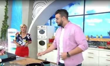 Στη Φωλιά των Κούκου: Η πρώτη εμφάνιση του Σταύρου Βαρθαλίτη στην κουζίνα