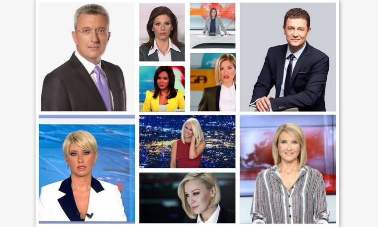 Κεντρικά δελτία ειδήσεων: Τα πρόσωπα, ο σκληρός ανταγωνισμός και οι αλλαγές