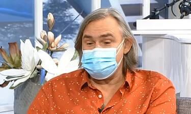 Συγκλονίζει ο Σακελλαρίου! Η περιπέτεια υγείας, ο ενδόμυχος φόβος και η διπλή μάσκα