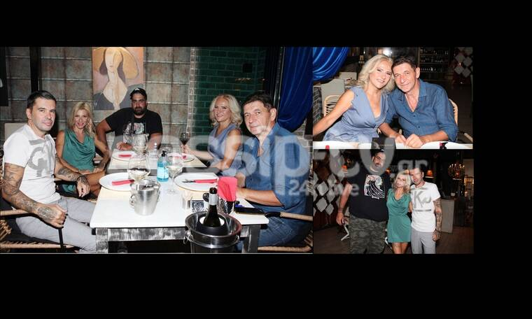 Σκιαδαρέσης - Μάλφα: Απόλαυσαν το δείπνο τους με τους κουμπάρους τους! (Pics)