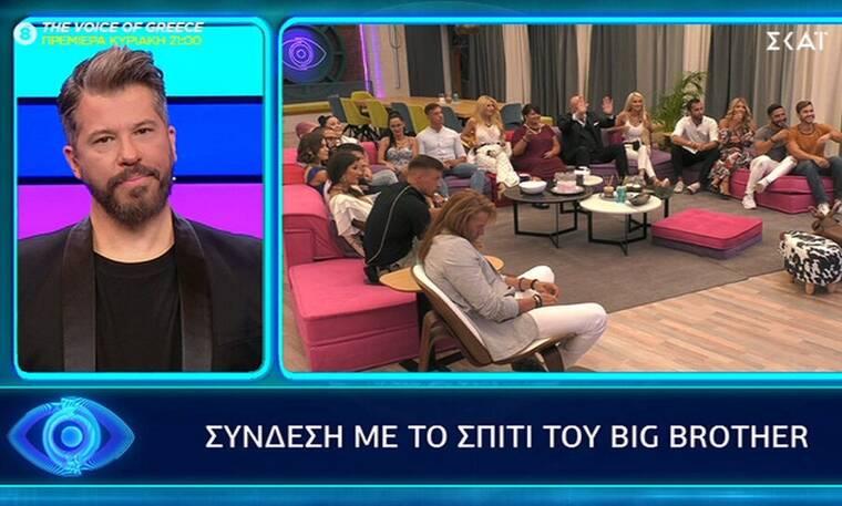 Big Brother: Μυστική αποστολή κατά τη διάρκεια του Live (video)