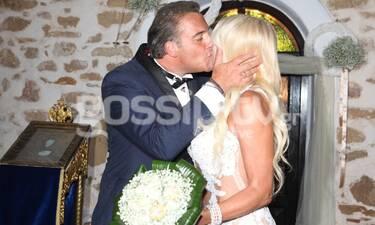 Τζάνης-Καραγιάννη: Το φωτογραφικό άλμπουμ του παραμυθένιου γάμου τους!