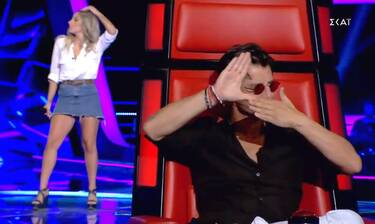 The Voice: Τραγούδησε Ρουβά αλλά γύρισε η Ελεονώρα! (video)