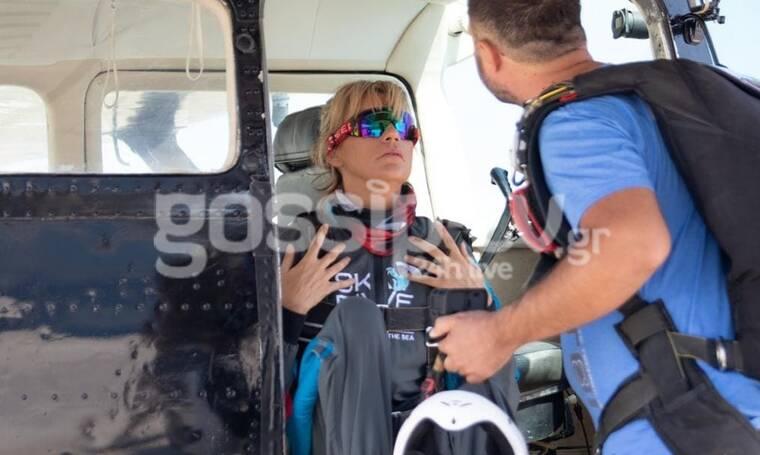 Σάσα Σταμάτη: Έκανε ελεύθερη πτώση από τα 12.000 πόδια (exclusive pics-vid)