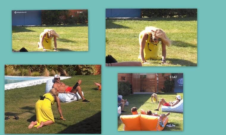 Big Brother: Η Άννα Μαρία γονάτισε στον κήπο και άρχισε να… νιαουρίζει