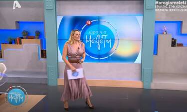 Ώρα για Μελέτη: Το φόρεμα statement της Ελεονώρας που πρέπει να δείτε! (video)