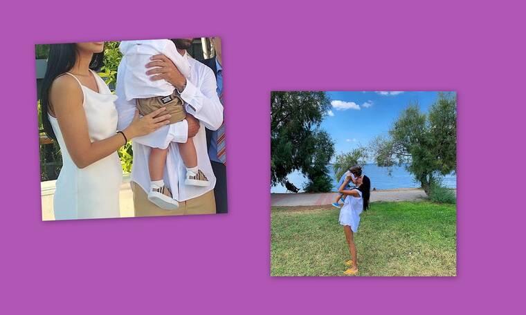 Ζευγάρι της showbiz βάπτισε τον δύο ετών γιο του και αυτές είναι οι πρώτες φωτογραφίες
