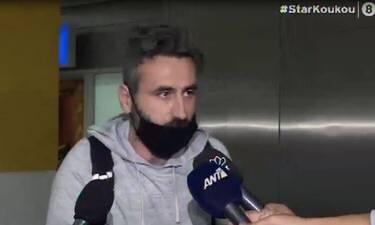 Ξέσπασε ο Μαυρίδης στο αεροδρόμιο: «Γράφατε πως μάλωσα με τον πιλότο…»