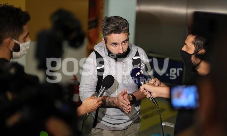 Μαυρίδης: Καρέ καρέ η επιστροφή του από το Μεξικό μετά την περιπέτειά του!