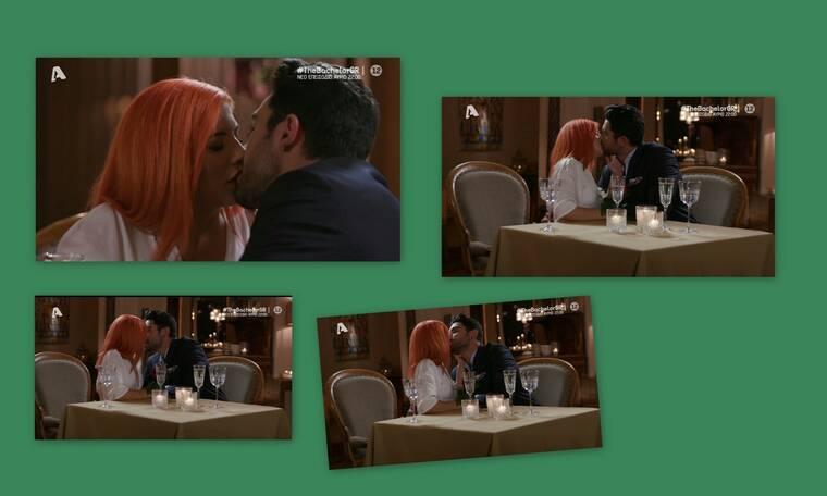 The Bachelor: Ασταμάτητος - Κι άλλα καυτά φιλιά με άλλη παίκτρια! (Vid - Pics)
