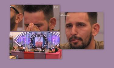 Big Brother: Ξέσπασε σε κλάματα βλέποντας την σύζυγο και τα παιδιά του