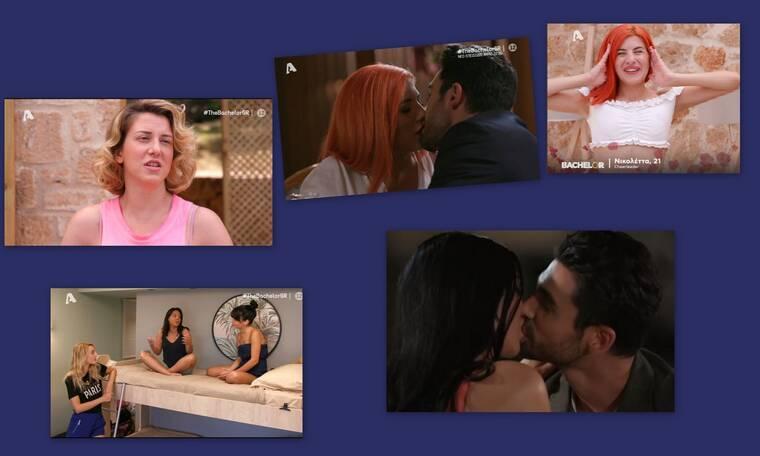 The Bachelor: Τα παθιασμένα φιλιά του Παναγιώτη έκαναν άνω – κάτω τις παίκτριες