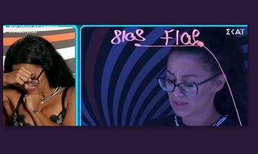 Big Brother:Με λυγμούς η Χριστίνα αποκάλυψε όλη την αλήθεια για το ροζ βίντεο