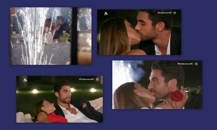 The Bachelor: Ασυγκράτητος – Το ίδιο σενάριο, με παθιασμένο φιλί και σε άλλη παίκτρια