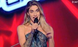 The Voice: Διαγωνιζόμενη προς Μουζουράκη: «Μη με κοιτάς έτσι! Δεν το αντέχω»