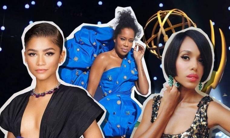 Emmys 2020: Τι φόρεσαν οι stars στη μεγάλη βραδιά της τηλεόρασης
