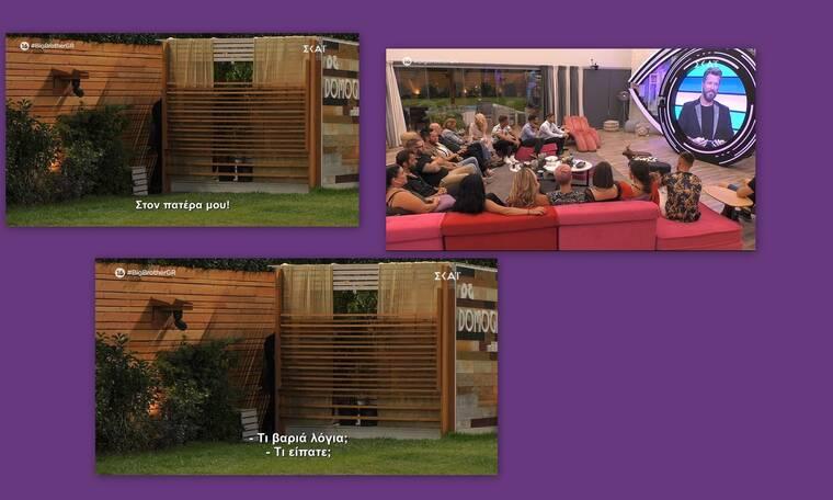 Big Brother: Απίστευτο περιστατικό λίγο πριν το Live που δεν έδειξαν οι κάμερες