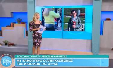 Ώρα για Μελέτη: Η κάμερα της εκπομπής στην Καρδίτσα – Οι συνέπειες της καταστροφής
