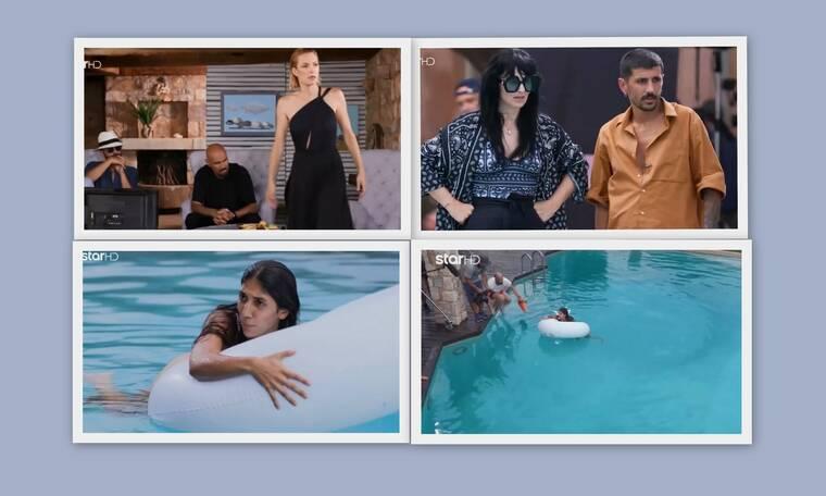 GNTM: Πανικός και φωνές στην πισίνα! Της κόπηκε η ανάσα μέσα στο νερό!