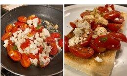 Συνταγή για εύκολη και νόστιμη μπρουσκέτα (Γράφει η Majenco)