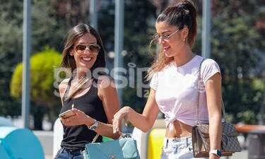 Μπέλλα - Ανδριοπούλου: Επέστρεψαν από διακοπές και πήγαν για shopping therapy