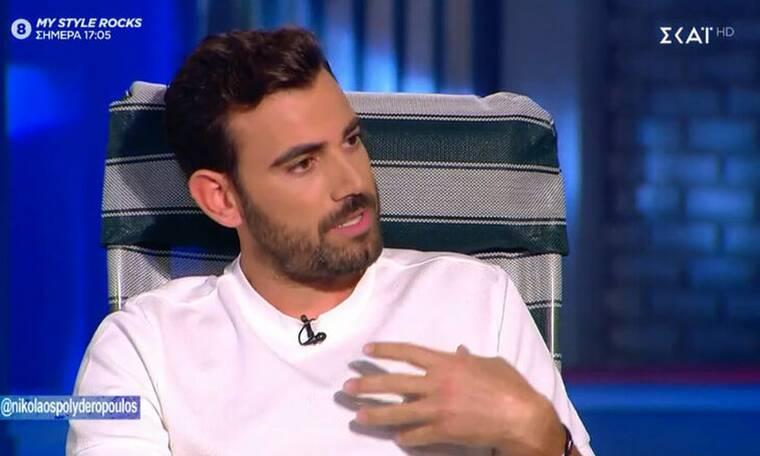 8 λέξεις: Ο Νίκος Πολυδερόπουλος μιλά για το νέο του ρόλο (pics - video)