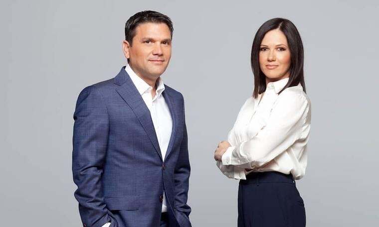Σιωμόπουλος – Γκαντώνα: «Στόχος μας να χτίσουμε σχέση εμπιστοσύνης με τους τηλεθεατές»