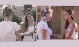 The Bachelor:Της έριξε την τούρτα με οργή και κόντεψαν να πιαστούν στα χέρια