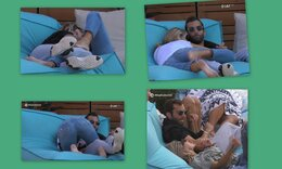 Big Brother: Του 'κανε αγκαλιές, της