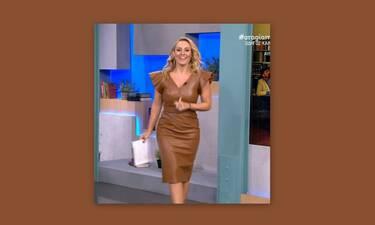 Μελέτη: Φόρεσε το μίντι δερμάτινο φόρεμα που πρέπει να έχεις στη ντουλάπα σου