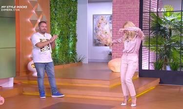 """Love it: Τα 'δωσε όλα η Μαλέσκου – Χόρεψε ζεϊμπέκικο και μας """"τρέλανε"""" (video)"""