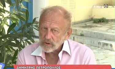 Δημήτρης Πετρόπουλος: «Έγινα δημόσιος υπάλληλος, ήταν δύσκολο να ζήσω...»