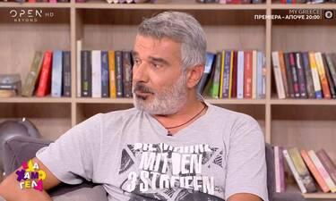 Αποστολάκης: «Ο κορονοϊός με έσωσε. Στενοχωρήθηκα που τελείωσε η καραντίνα»