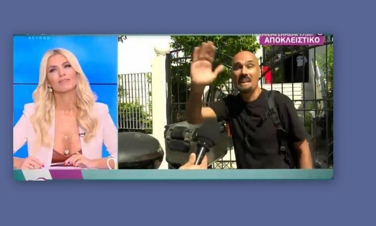Δημήτρης Σκουλός: Έτσι αντέδρασε όταν ρωτήθηκε για τη φώτο με τον άστεγο