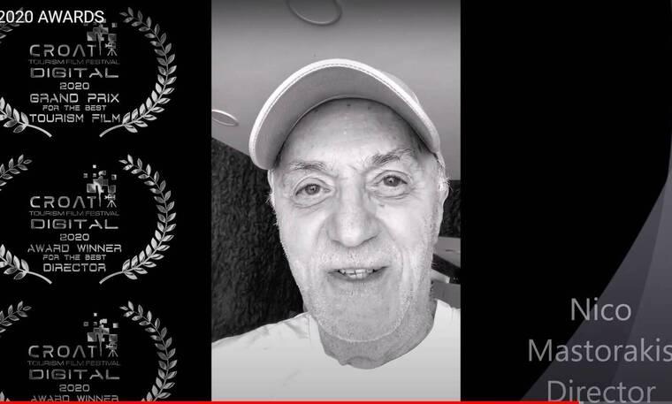 H ταινία του Μαστοράκη για τον Άλιμο κέρδισε 3 βραβεία στο Φεστιβάλ Κροατίας!